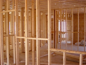 Photo of house frame